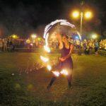 Egri Bikavér Ünnep 2017 - Tűzzsonglőr bemutató