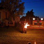 Hernádkak augusztus 20-i ünnepség, tűzzsonglőr műsor 2019