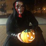 Iskolai Halloween Tűzzsonglőr Műsor, Tiszaújváros, 2019