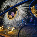 Tűzzsonglőr előadás Budapesten
