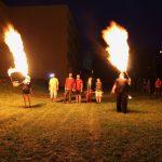 Eger, Tinódi Általános Iskola, Szerenád, Tűzzsonglőr bemutató 2015