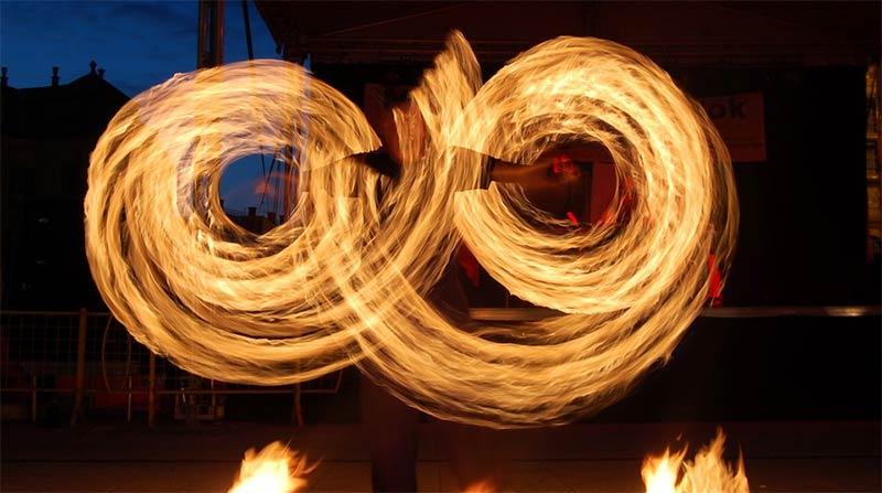 2014-es fellépések, tűzzsonglőr produkció