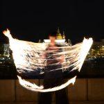 Budapest, Clark Ádám tér, Tűzzsonglőr Fotózás, 2013