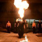 Budapest, Goldmann Tér, BME, Vegyész Napok, Tűzzsonglőr Műsor 2013