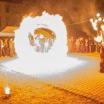 Eger, Drogprevenciós nap, Tűzzsonglőr Műsor 2014
