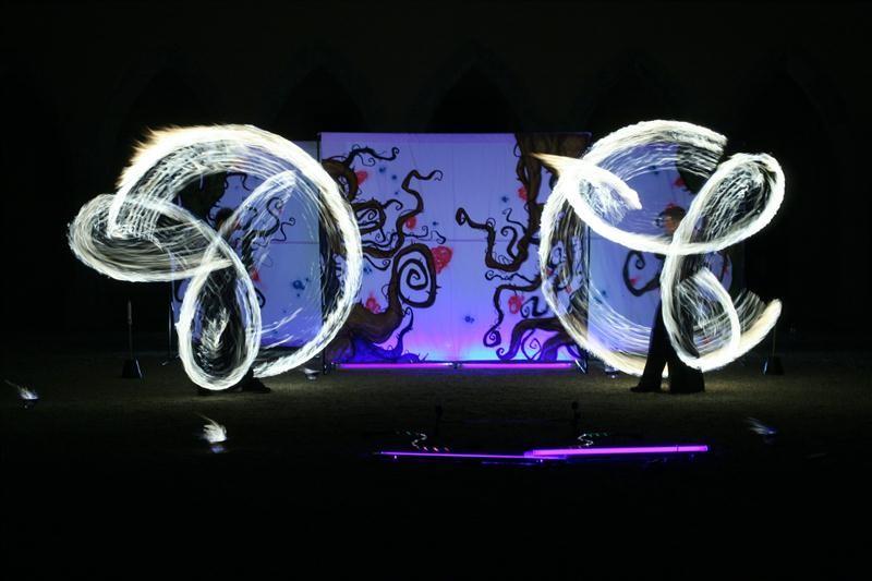 Eger, Titkos Átjáró Tűzsszínház Műsor, Lobbanáspont Tűzzsonglőr Csapat, 2012