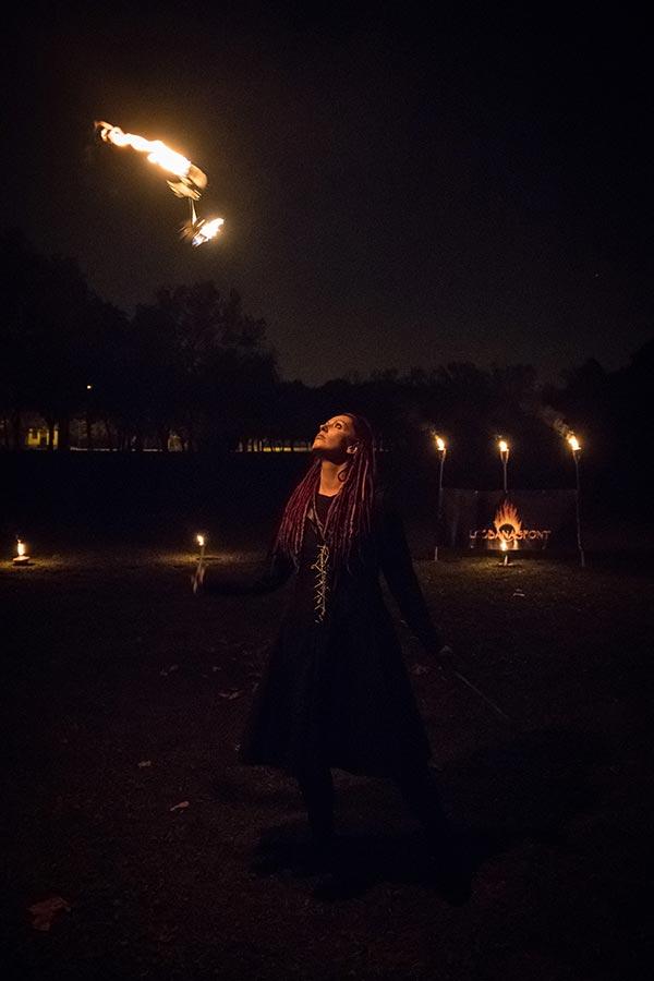 Lobbanáspont Tűzzsonglőr Produkció - Nagy Marianna