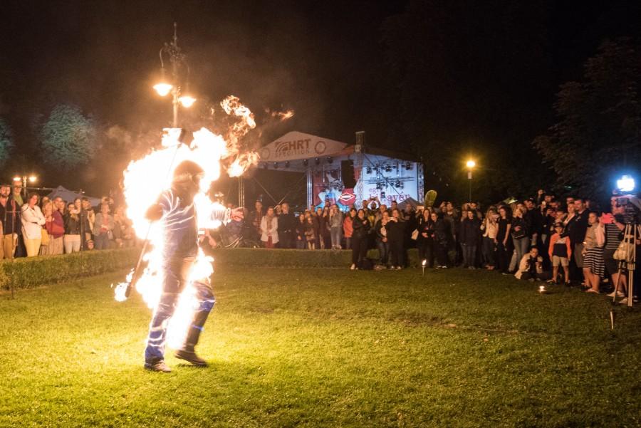 Pyromanta Tűzzsonglőr Műsor