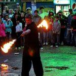 Túrkeve, Juhász Fesztivál, Tűzzsonglőr bemutató 2014