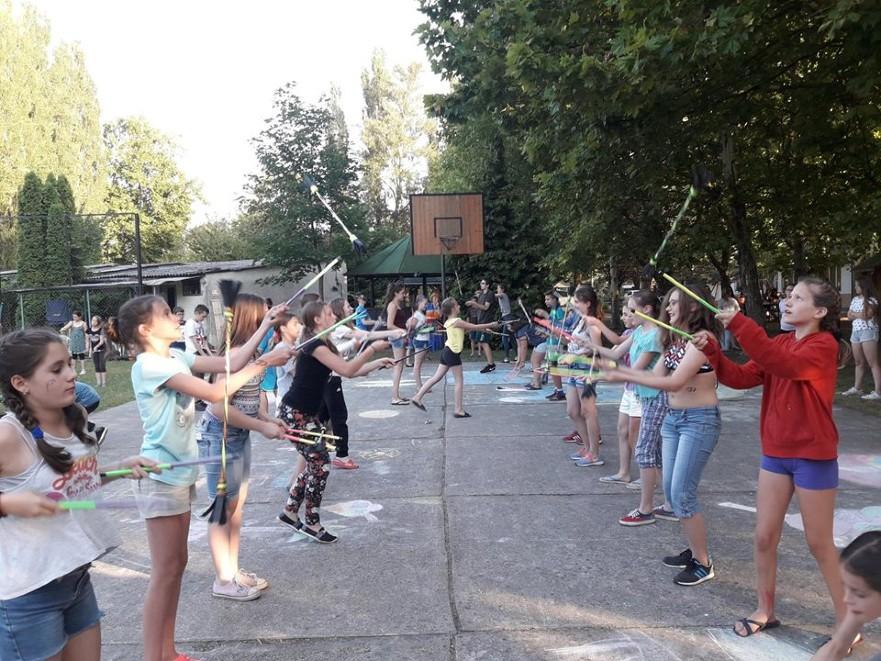 Zsonglőr játszóházas workshop